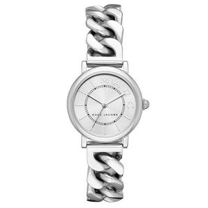 BRAND NEW! Marc Jacobs Classic Watch Silver Tone